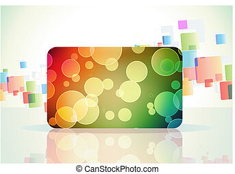 abstract background - Vector illustration of abstract color...