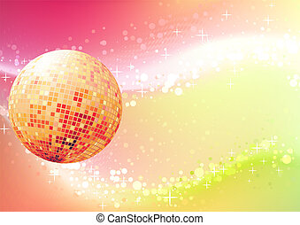 abstract background - Vector illustration of abstract party...