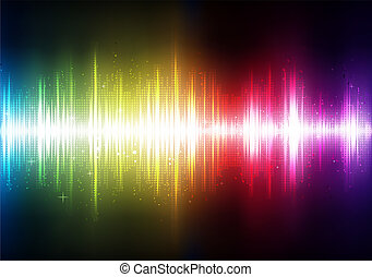 abstract Background - Vector illustration of futuristic ...