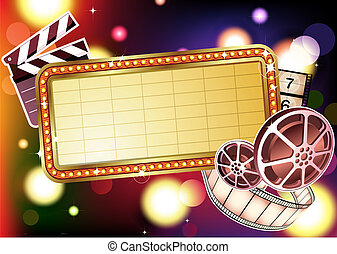 abstract Background - Vector illustration of retro ...