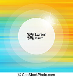 Abstract background. Vector illustration with place for text.