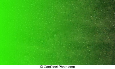abstract background, video footage - Green screen....