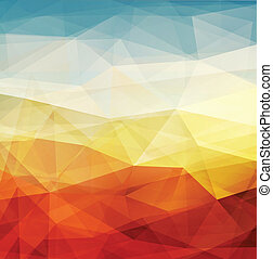 Abstract background warm texture design - vector ...