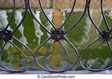 Abstract background, Water reflection