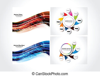 Abstract Background & Web Banner
