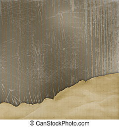 Abstract background with  alienated paper