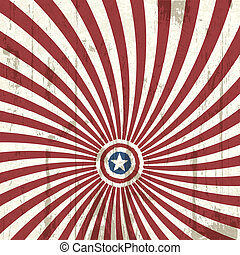 Abstract background with american flag elements. Vector illustration, EPS 10