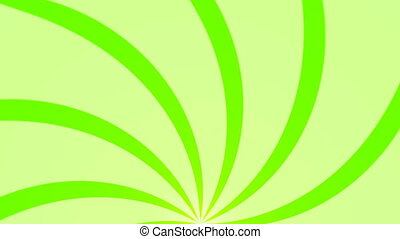Abstract background with animation of sun beams. Retro radial background. 3d rendering