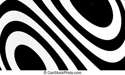 Abstract background with black and white lines
