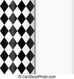Abstract background with black diamonds. eps10