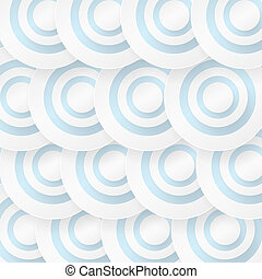 Abstract background with blue circles