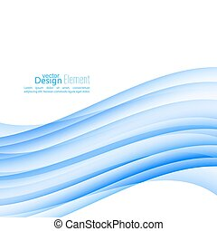 Abstract background with blue stripes