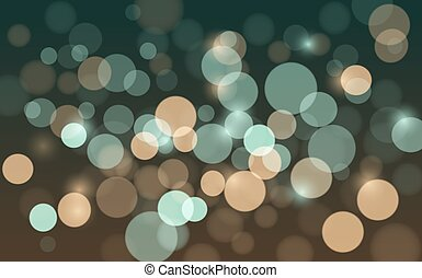 Abstract background with blur bokeh effect. Vector EPS 10 ...