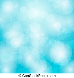 Abstract background with bokeh circles