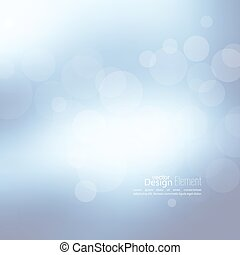 Abstract background with bokeh effect. Vector delicate...