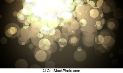 Abstract background with bokeh lights