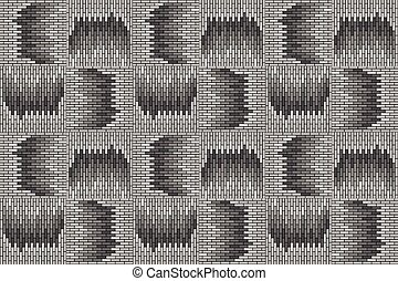 abstract background with brick