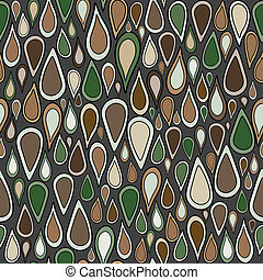 Abstract background with brown and green elements
