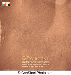 abstract background with cardboard texture