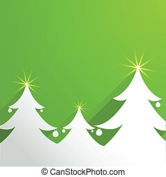 Abstract Background with Christmas