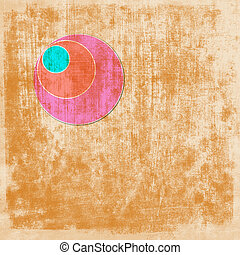abstract background with circle elements