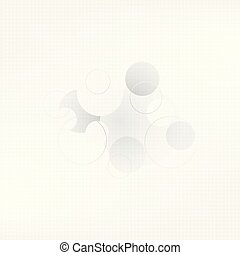 Abstract Background  with circle ,Vector Illustration.