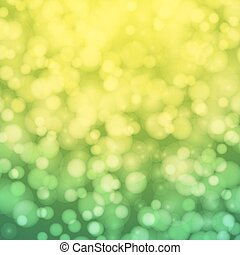 Abstract background with circles of light.
