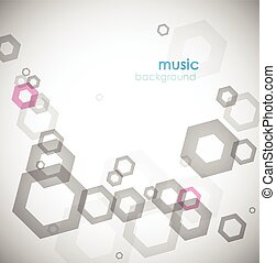 Abstract background with circles.