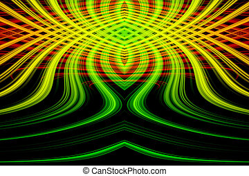Abstract background with colorful