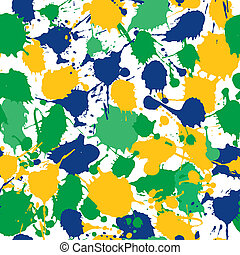 Abstract background with colors blots hand drawn
