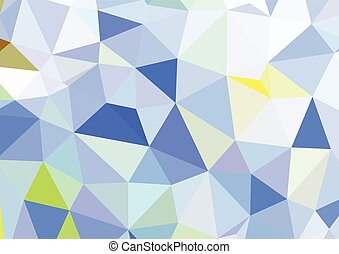 Abstract background with cube design