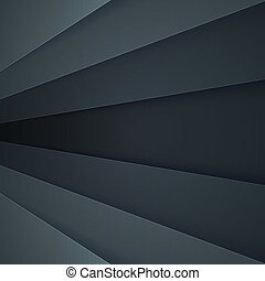 Abstract background with dark grey paper layers - Dark grey ...