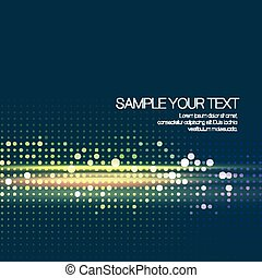 Abstract background with dots. Vector illustration