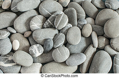abstract background with dry round reeble stones