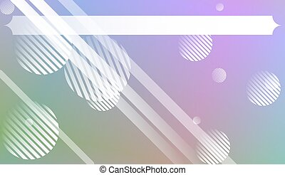 Abstract Background With Dynamic Effect. For Design Flyer, Banner, Landing Page. Vector Illustration with Color Gradient.