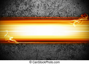 abstract background with flames
