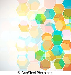 Abstract background with geometric pattern