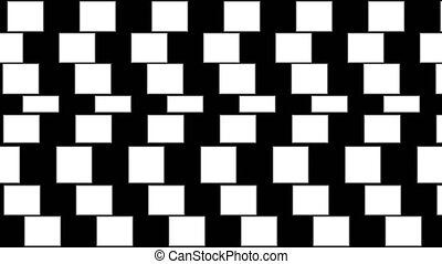 Abstract background with geometric optical illusion.