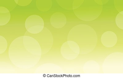 Abstract background with green light