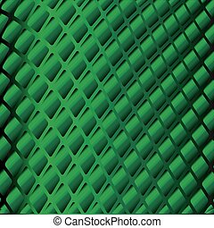 Abstract background with green