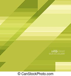 Abstract background with green stripes corner. Concept new...
