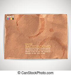 abstract background with grunge cardboard texture