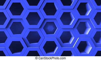Abstract background with honeycomb. Digital backdrop....