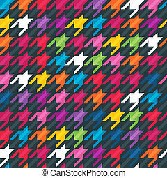 Abstract background with houndstooth print. - Abstract...
