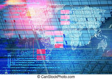 Future and computing concept