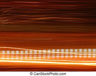 abstract background with light art