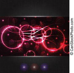 Abstract background with light effects