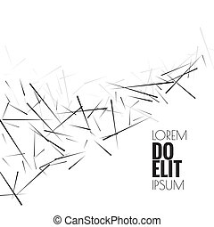 Abstract background with lines. - Abstract background with ...