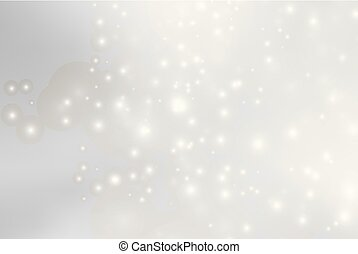 Abstract background with magic effect.