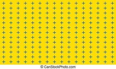 Abstract background with many rows of crosses, retro texture for design, 3d render